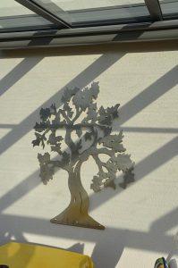 Haus - Wandbehang - Deko
