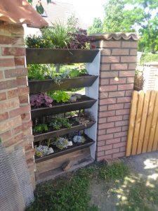 Garten - Sichtschutz - Pflanzkasten