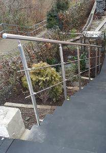 Geländer - Terrasse - Balkon - Treppe